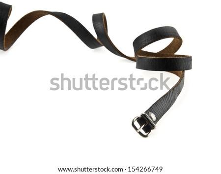 strap on a white background - stock photo