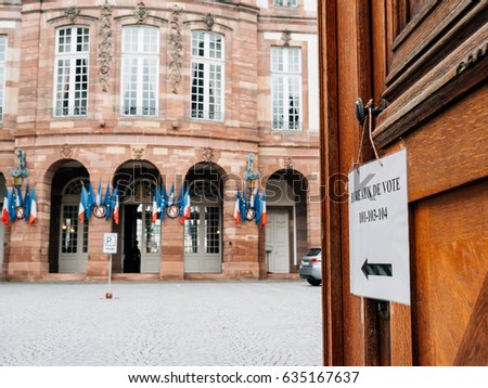 Strasbourg france may french stock photo
