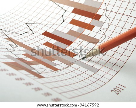 Strategic financial management - stock photo