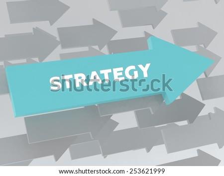 STRATEGY - stock photo