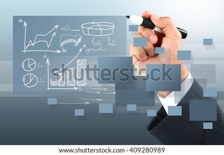 Strategy. - stock photo