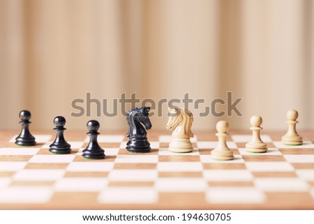strategy board game  - stock photo