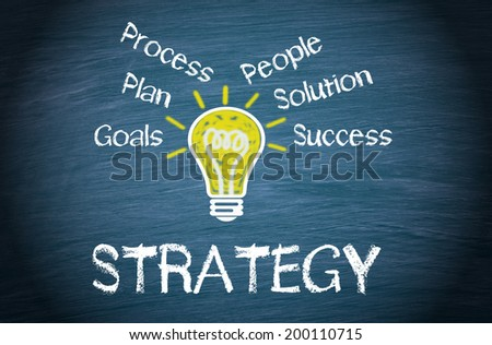 Strategy - Business Concept - stock photo