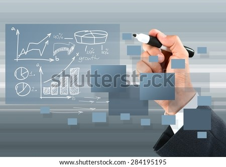 Strategy, Coach, Business. - stock photo