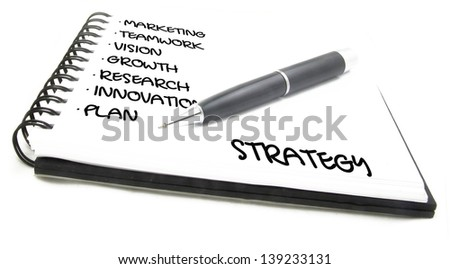 strategy plan notes