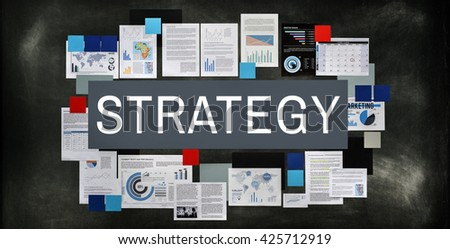 Strategy Tactics Vision Solution Concept - stock photo