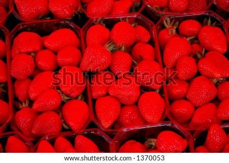 Strawberries - stock photo