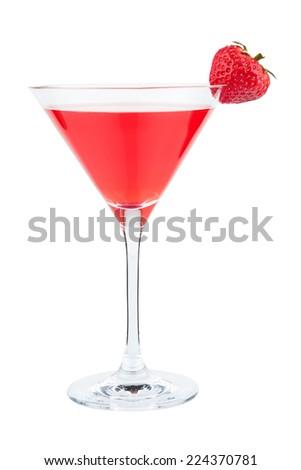 Strawberry Cocktail - stock photo