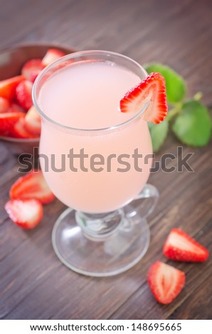 strawberry coctail