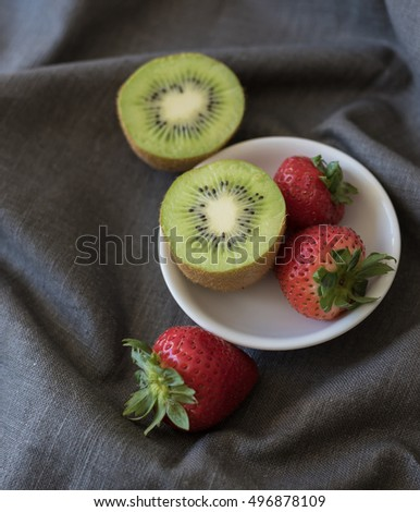 Strawberry Kiwi Fruits