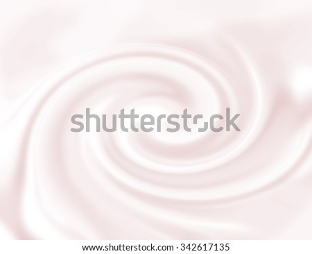 Strawberry mousse texture. Yogurt ice cream background. Tasty liquid texture of milky smooth product. Sweet food silky texture. Pink yogurth curl. Creamy dairy product. - stock photo