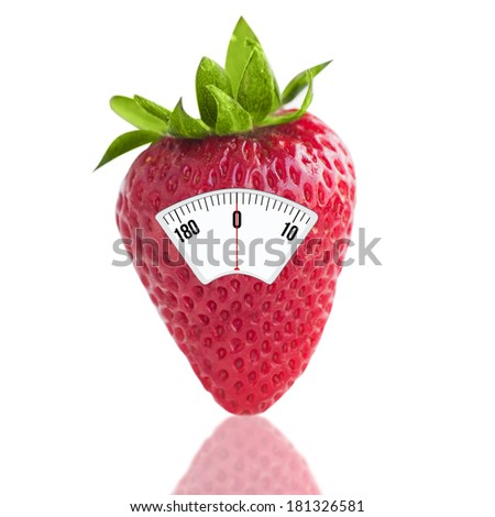 Strawberry with scales