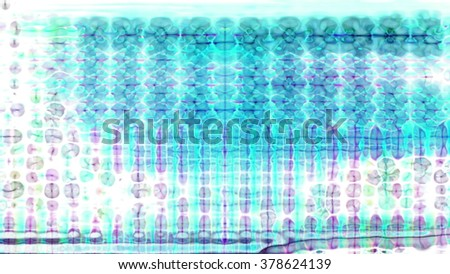 Streaming digital data abstraction 10790 from a series of futuristic tech imagery. - stock photo