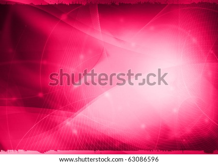 Streams of light abstract Cool waves background - stock photo