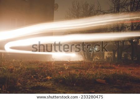 street at night - stock photo