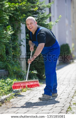 street Cleaning - stock photo