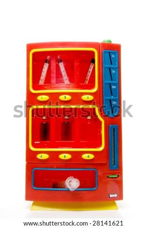 Street Drugs Vending Machine - stock photo