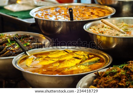 Street Food - stock photo