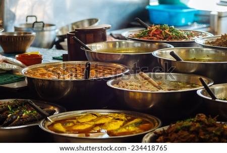 Street Food - stock photo