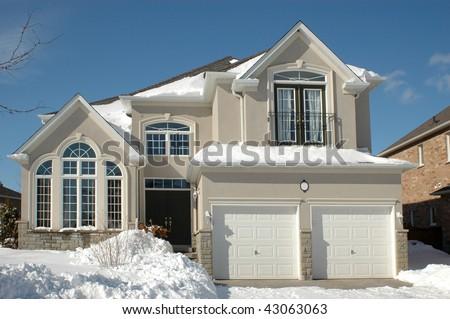Street House - stock photo