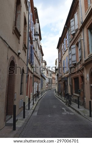 Street in Toulouse