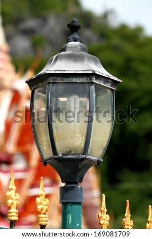 Street lamps - stock photo
