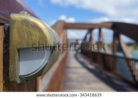 Street light. - stock photo