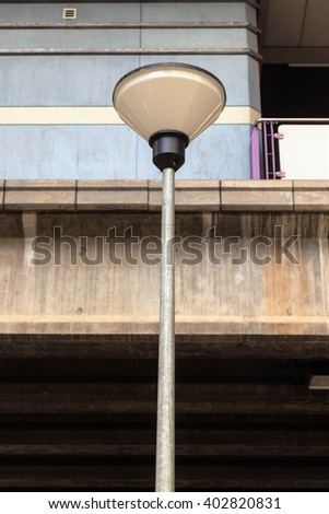 Street Light in Bangkok, Thailand.