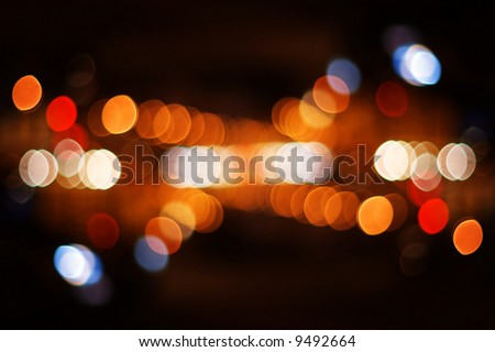 street light spots - stock photo