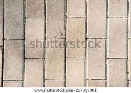 street pavement, close-up - stock photo
