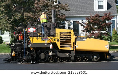 street paving equipment