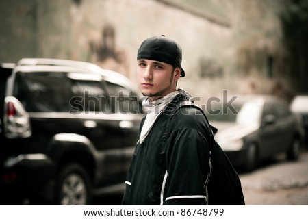 street portrati - stock photo