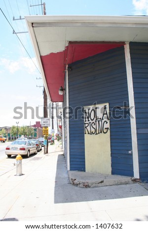 street scene of hope - stock photo