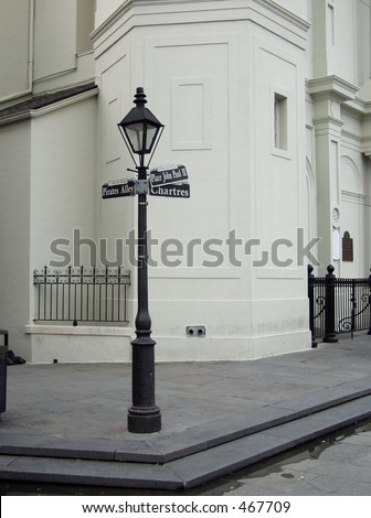 Street sign New Orleans - stock photo