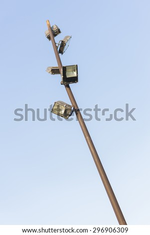 Streetlight. - stock photo