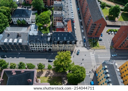 Streets from above