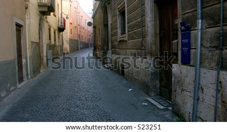 Streets of Italy - stock photo
