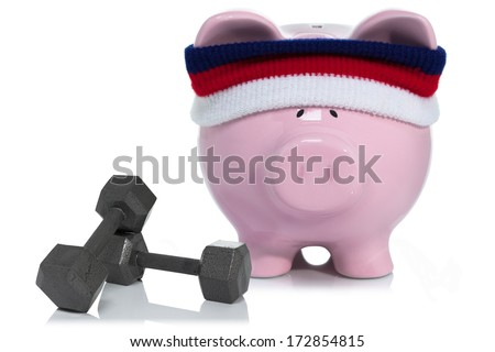 Strengthening and building your savings - stock photo