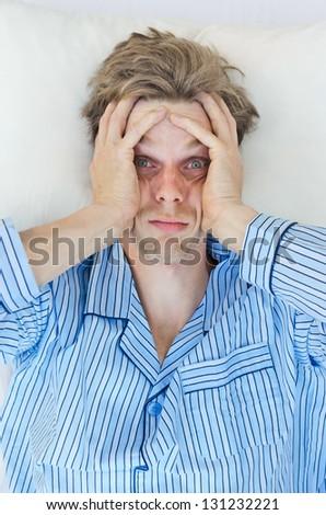 stress - stock photo