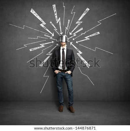 stress protection - stock photo