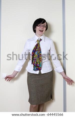 stressed businessman shouting - stock photo