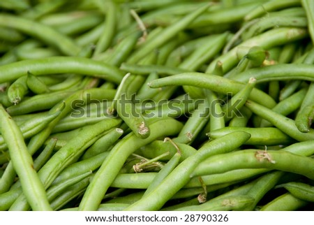 String Beans - stock photo