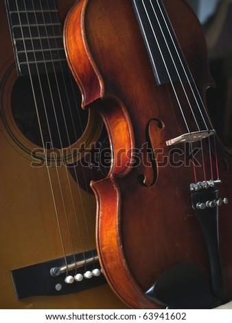 Stringed Instruments - stock photo