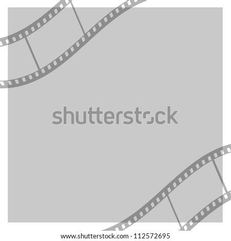 strip film - stock photo