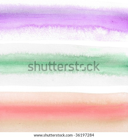 striped abstract paint background - stock photo