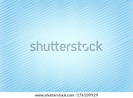 Striped background design, Abstract lines on blue background. - stock photo