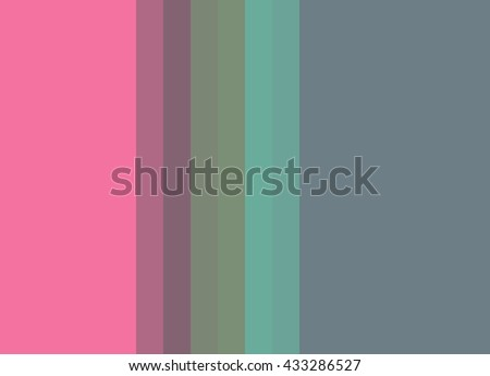 Striped Background In Bright Pink Muted Blue Turquoise Sage Lavender Vertical