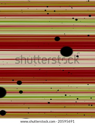 Striped background with some stains on it - stock photo