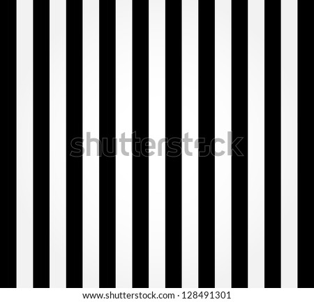 Striped black and white background - stock photo