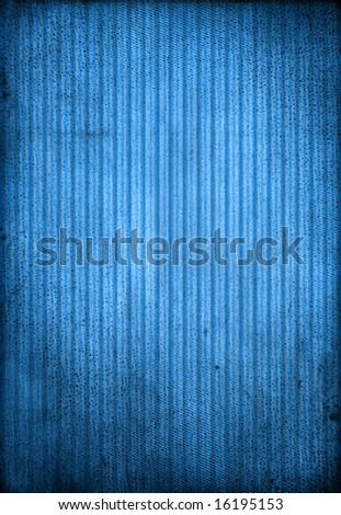 Striped blue background, lighten grungy blue - stock photo